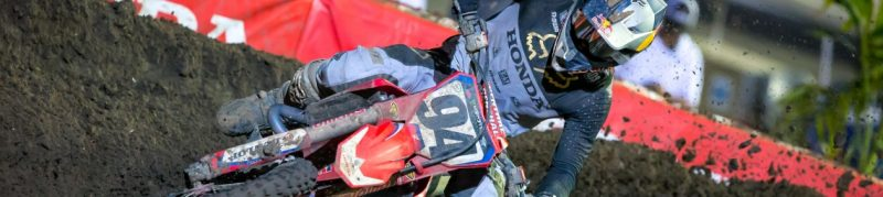 Challenging Night for Team Honda HRC at Daytona Supercross