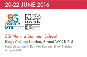 5G Norma Summer School – 20-22 June 2016