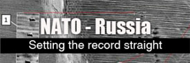 NATO-Russia, setting the record straight - banner