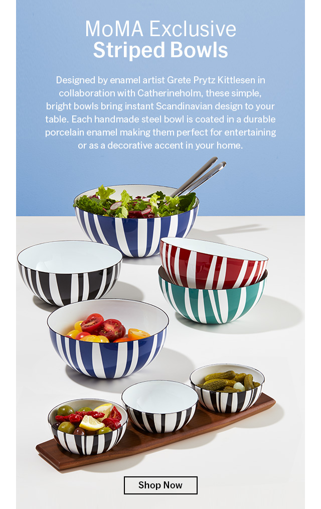 Striped Bowls