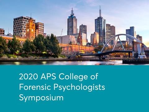 APS College of Forensic Psychologists Symposium