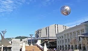 Civic Square in Wellington.