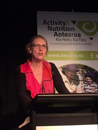 Professor Fiona Bull at the recent ANA Conference.