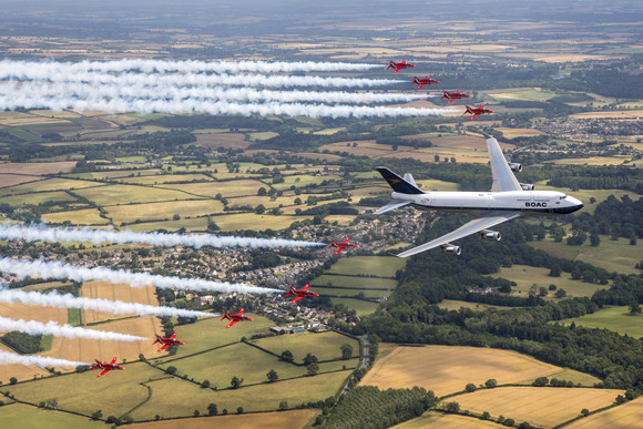 British Airways and the Red Arrows