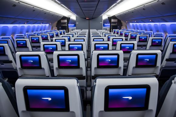 New World Traveller seats