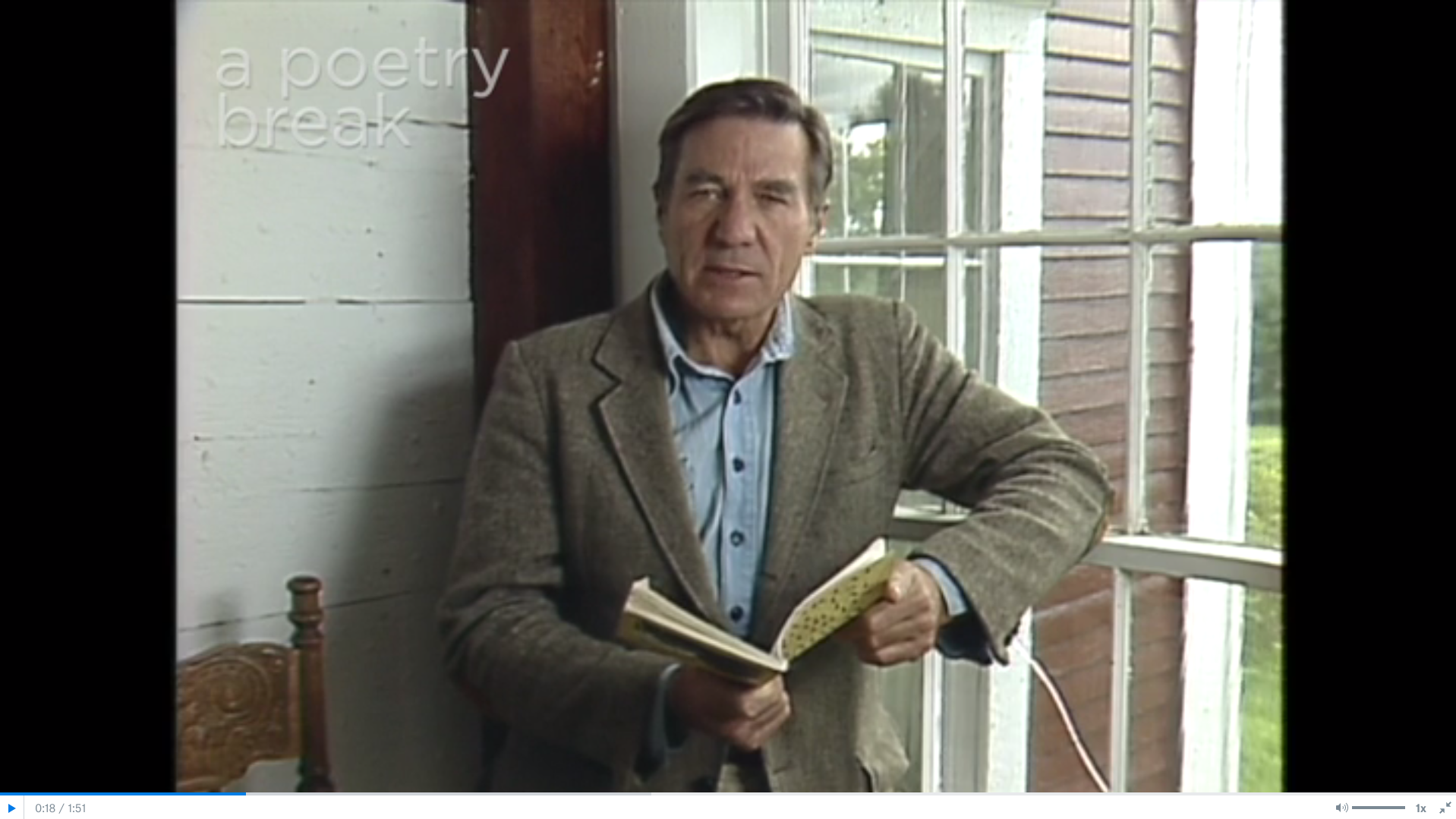 Poetry Breaks: Galway Kinnell